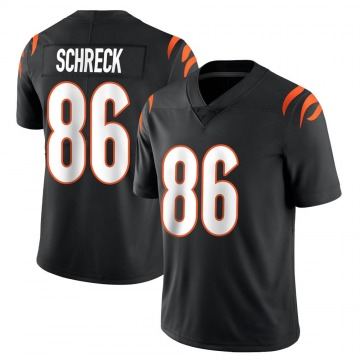 Youth Nike Cincinnati Bengals Mason Schreck Black Team Color Vapor Untouchable Jersey - Limited
