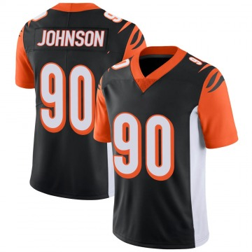Youth Nike Cincinnati Bengals Michael Johnson Black 100th Vapor Jersey - Limited