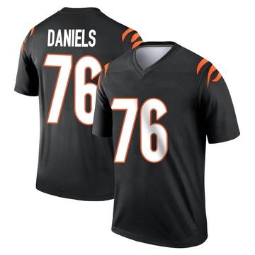 Youth Nike Cincinnati Bengals Mike Daniels Black Jersey - Legend