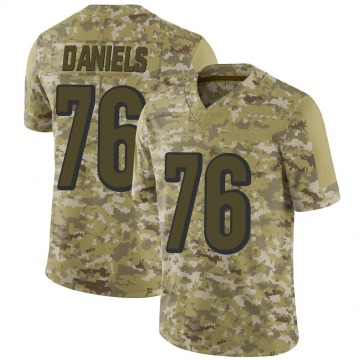 Youth Nike Cincinnati Bengals Mike Daniels Camo 2018 Salute to Service Jersey - Limited