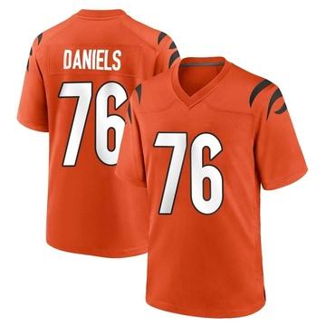 Youth Nike Cincinnati Bengals Mike Daniels Orange Jersey - Game