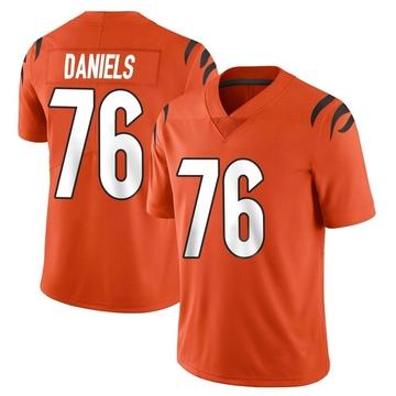 Youth Nike Cincinnati Bengals Mike Daniels Orange Vapor Untouchable Jersey - Limited