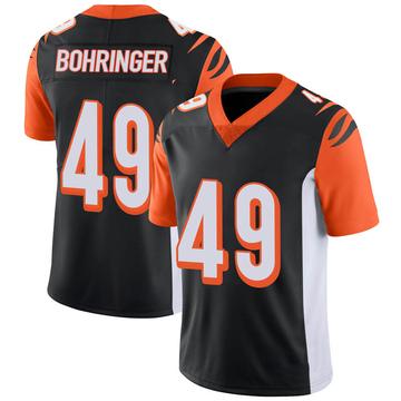 Youth Nike Cincinnati Bengals Moritz Bohringer Black 100th Vapor Jersey - Limited