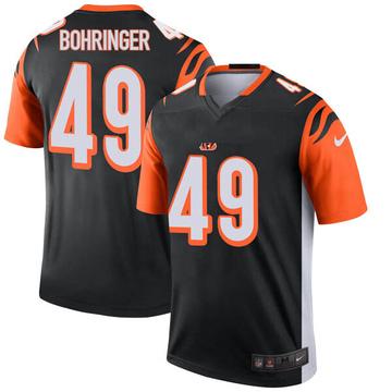 Youth Nike Cincinnati Bengals Moritz Bohringer Black Jersey - Legend