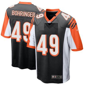 Youth Nike Cincinnati Bengals Moritz Bohringer Black Team Color Jersey - Game