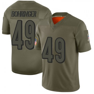 Youth Nike Cincinnati Bengals Moritz Bohringer Camo 2019 Salute to Service Jersey - Limited