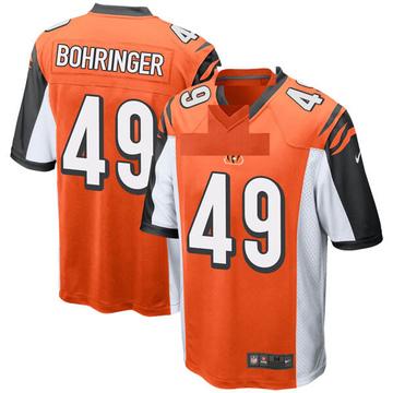 Youth Nike Cincinnati Bengals Moritz Bohringer Orange Jersey - Game