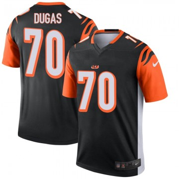 Youth Nike Cincinnati Bengals O'Shea Dugas Black Jersey - Legend