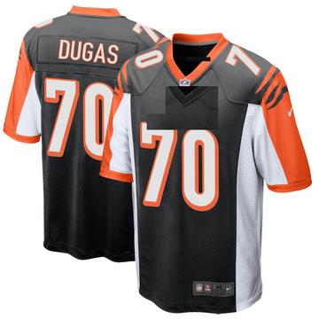 Youth Nike Cincinnati Bengals O'Shea Dugas Black Team Color Jersey - Game
