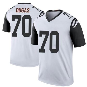 Youth Nike Cincinnati Bengals O'Shea Dugas White Color Rush Jersey - Legend