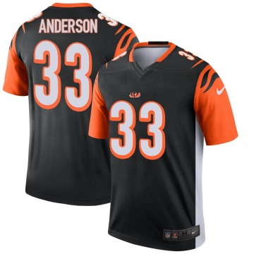 Youth Nike Cincinnati Bengals Rodney Anderson Black Jersey - Legend