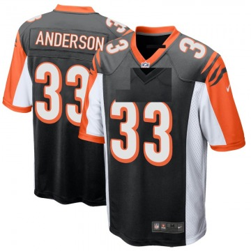 Youth Nike Cincinnati Bengals Rodney Anderson Black Team Color Jersey - Game