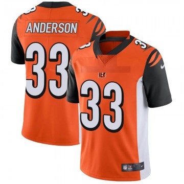 Youth Nike Cincinnati Bengals Rodney Anderson Orange Vapor Untouchable Jersey - Limited