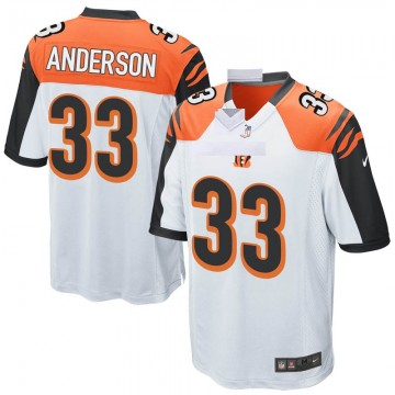 Youth Nike Cincinnati Bengals Rodney Anderson White Jersey - Game