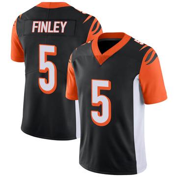 Youth Nike Cincinnati Bengals Ryan Finley Black 100th Vapor Jersey - Limited