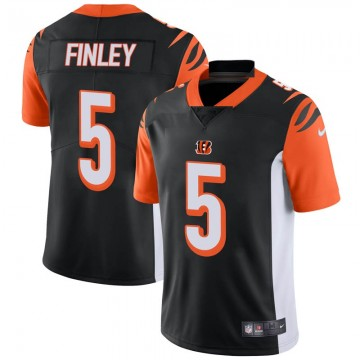 Youth Nike Cincinnati Bengals Ryan Finley Black Team Color Vapor Untouchable Jersey - Limited