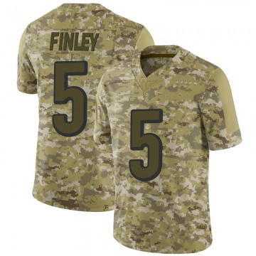 Youth Nike Cincinnati Bengals Ryan Finley Camo 2018 Salute to Service Jersey - Limited