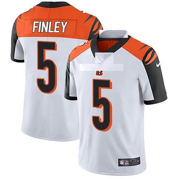 Youth Nike Cincinnati Bengals Ryan Finley White Vapor Untouchable Jersey - Limited