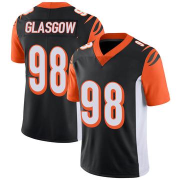 Youth Nike Cincinnati Bengals Ryan Glasgow Black 100th Vapor Jersey - Limited