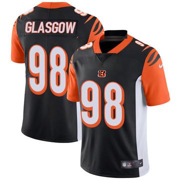 Youth Nike Cincinnati Bengals Ryan Glasgow Black Team Color Vapor Untouchable Jersey - Limited