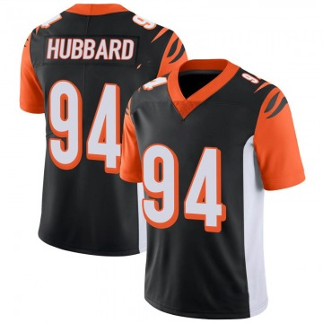 Youth Nike Cincinnati Bengals Sam Hubbard Black 100th Vapor Jersey - Limited