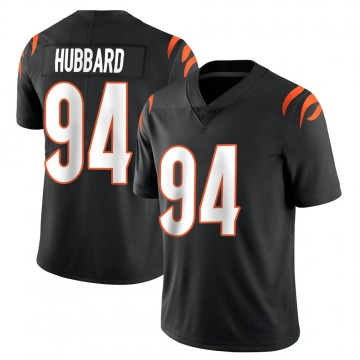 Youth Nike Cincinnati Bengals Sam Hubbard Black Team Color Vapor Untouchable Jersey - Limited