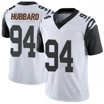 Youth Nike Cincinnati Bengals Sam Hubbard White Color Rush Vapor Untouchable Jersey - Limited