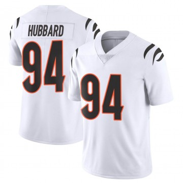 Youth Nike Cincinnati Bengals Sam Hubbard White Vapor Untouchable Jersey - Limited