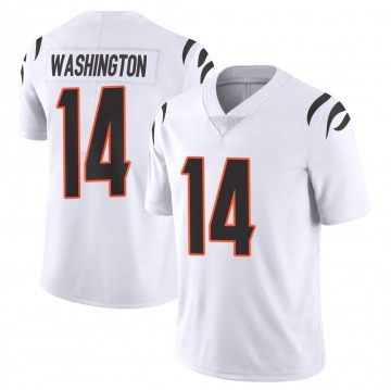 Youth Nike Cincinnati Bengals Scotty Washington White Vapor Untouchable Jersey - Limited