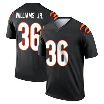 Youth Nike Cincinnati Bengals Shawn Williams Black Jersey - Legend