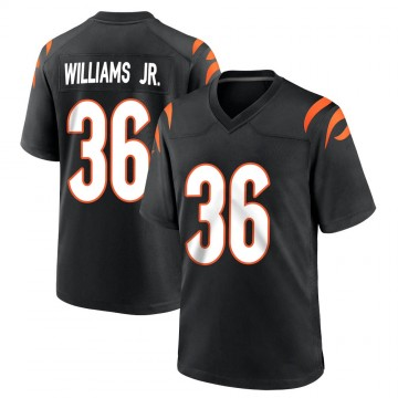 Youth Nike Cincinnati Bengals Shawn Williams Black Team Color Jersey - Game