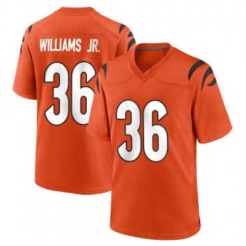 Youth Nike Cincinnati Bengals Shawn Williams Orange Jersey - Game