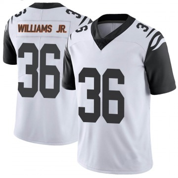 Youth Nike Cincinnati Bengals Shawn Williams White Color Rush Vapor Untouchable Jersey - Limited