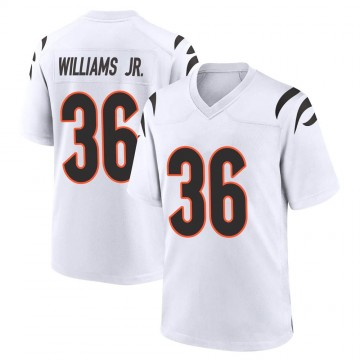 Youth Nike Cincinnati Bengals Shawn Williams White Jersey - Game