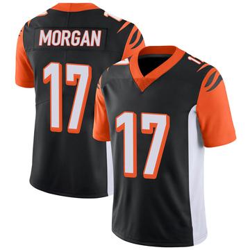 Youth Nike Cincinnati Bengals Stanley Morgan Jr. Black 100th Vapor Jersey - Limited