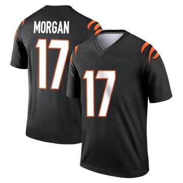 Youth Nike Cincinnati Bengals Stanley Morgan Jr. Black Jersey - Legend