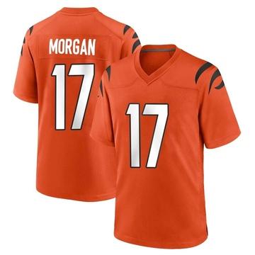 Youth Nike Cincinnati Bengals Stanley Morgan Jr. Orange Jersey - Game