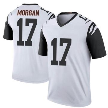 Youth Nike Cincinnati Bengals Stanley Morgan Jr. White Color Rush Jersey - Legend