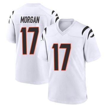 Youth Nike Cincinnati Bengals Stanley Morgan Jr. White Jersey - Game