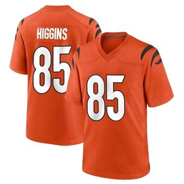 Youth Nike Cincinnati Bengals Tee Higgins Orange Jersey - Game