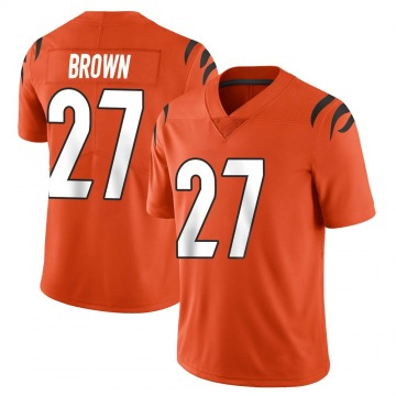 Youth Nike Cincinnati Bengals Tony Brown Orange Vapor Untouchable Jersey - Limited