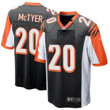Youth Nike Cincinnati Bengals Torry McTyer Black Team Color Jersey - Game