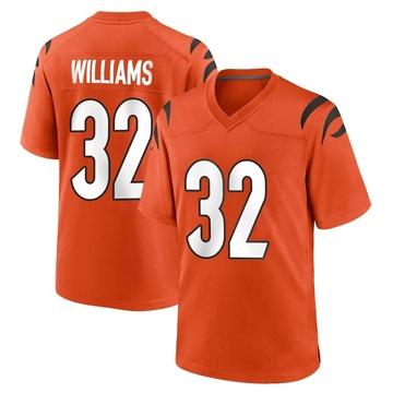 Youth Nike Cincinnati Bengals Trayveon Williams Orange Jersey - Game