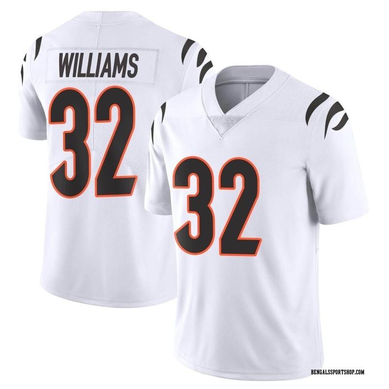 Youth Nike Cincinnati Bengals Trayveon Williams White Vapor Untouchable Jersey - Limited