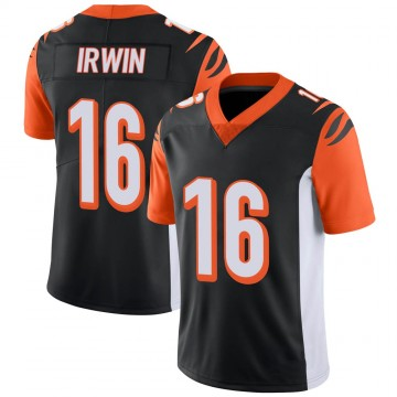 Youth Nike Cincinnati Bengals Trenton Irwin Black 100th Vapor Jersey - Limited