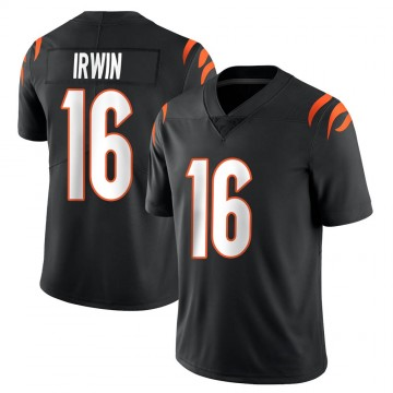 Youth Nike Cincinnati Bengals Trenton Irwin Black Team Color Vapor Untouchable Jersey - Limited