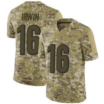 Youth Nike Cincinnati Bengals Trenton Irwin Camo 2018 Salute to Service Jersey - Limited