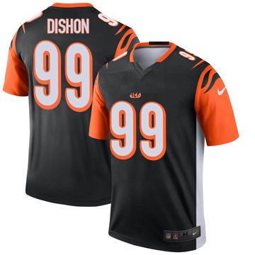 Youth Nike Cincinnati Bengals Trey Dishon Black Jersey - Legend
