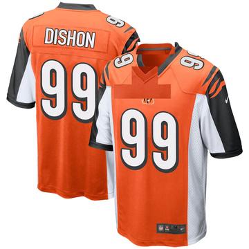 Youth Nike Cincinnati Bengals Trey Dishon Orange Jersey - Game