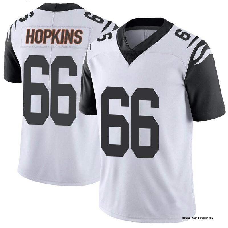 Youth Nike Cincinnati Bengals Trey Hopkins White Color Rush Vapor ...